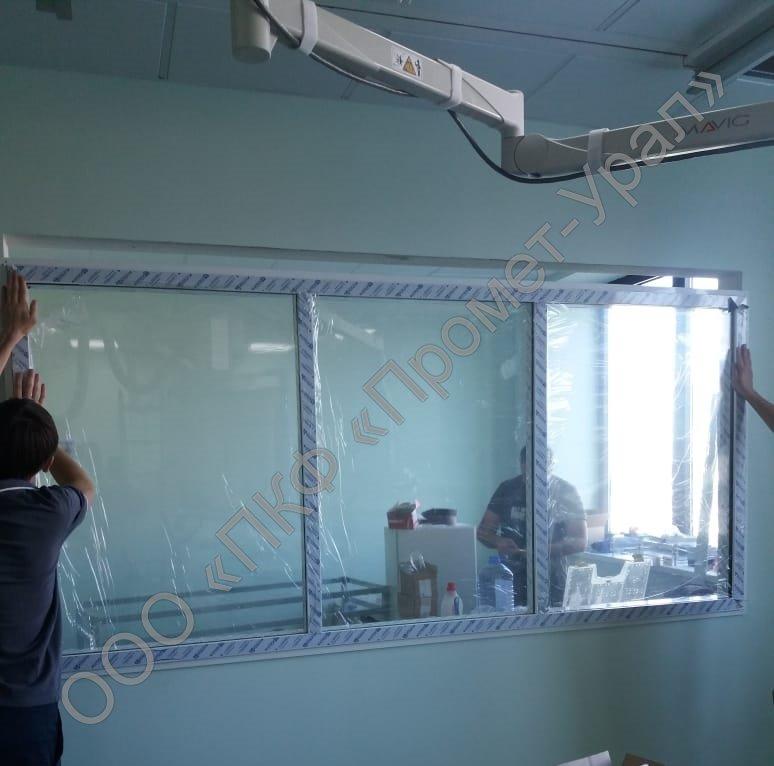 Производство рентгенозащитных стекол
